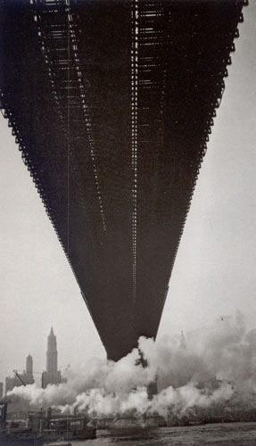 Brooklyn Bridge, Walker Evans, 1929