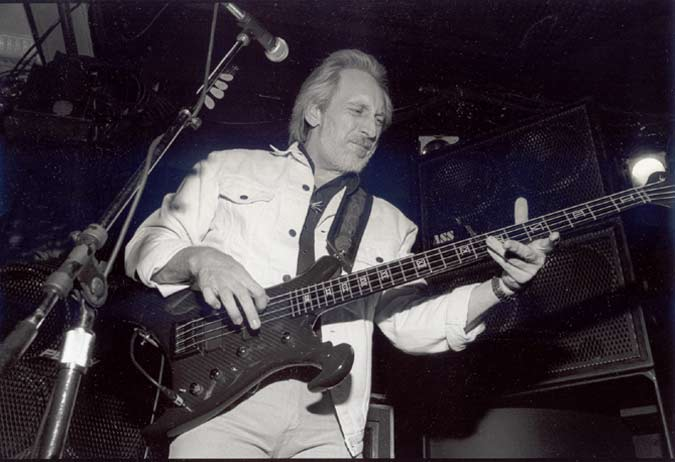 one of the last times I used a real camera for something: John Entwistle at Juanita's in LR, Arkansas