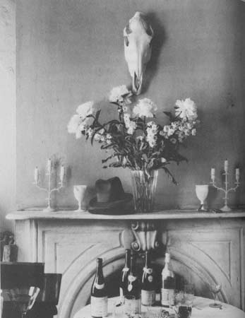 Walker Evans, Muriel Draper's apartment 1931