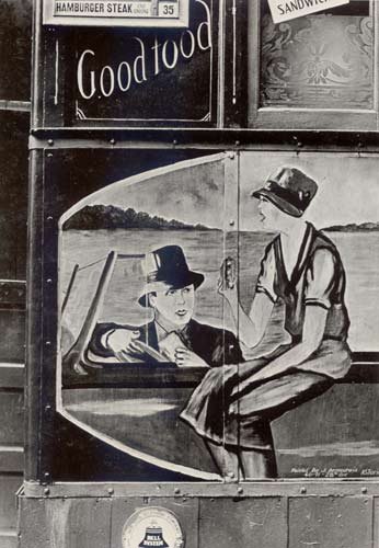 Lunch Wagon detail, New York, 1931