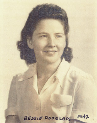 my mother in 1942