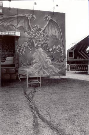 county fair, Bakersfield, CA, a long time ago-- demons are everywhere.