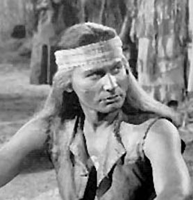 Jeff Chandler as Cochise in Broken Arrow, 1950