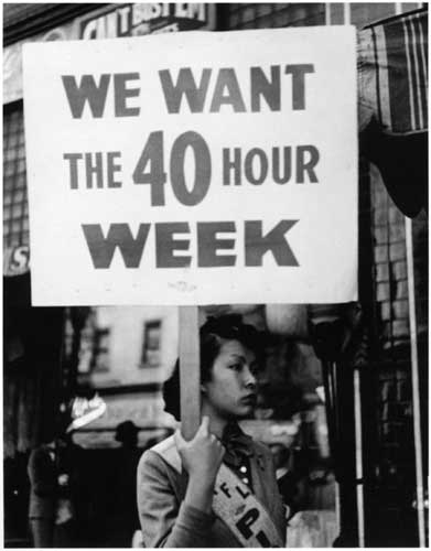 We Want the 40 Hour Work Week