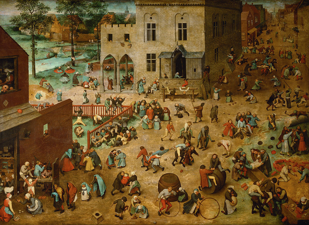 Pieter Bruegel the Elder - Children's Games (1560)
